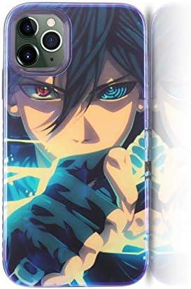 Amazon.com: STICKALYLY Soft Silicone Case for iPhone 11 Luxury Anime Naruto Pain Sasuke Glossy Cover Naruto Fan Cool Cases