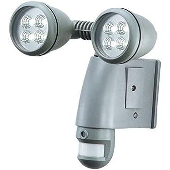 Flood Light Security Camera Adorable SmartGuard Motion Sensor Twin 60 Pc LED Lights With Builtin Camera