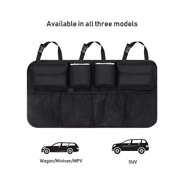 Organizer Auto, URAQT Protezione Sedile Auto Bambini Impermeabile, con Multi-Tasca dell'Organizzatore e Pocket… 4