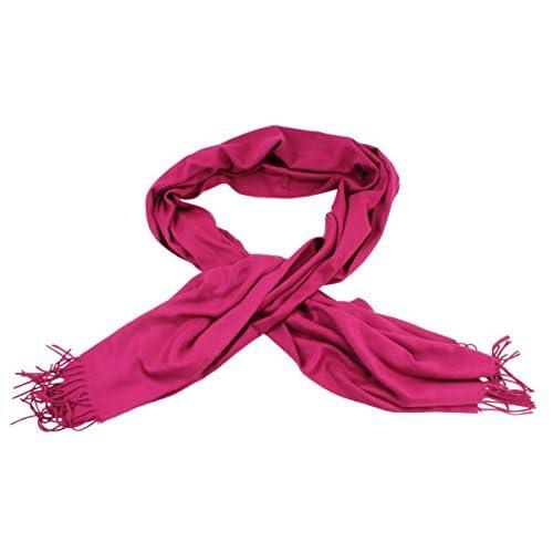 Magenta Pink Cashmink Scarf by Fraas  5BIKe0502947  -  17.99 a3d7abfaaf17c
