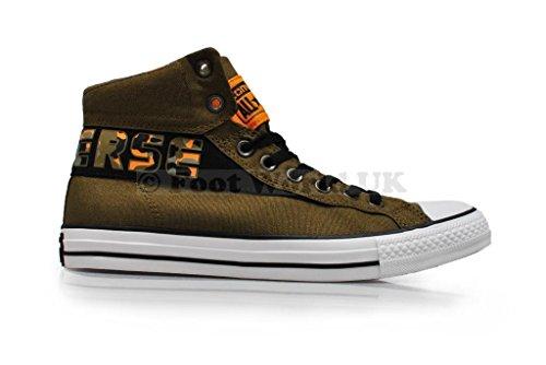 Converse, Sneaker uomo verde Green