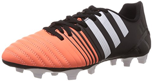 adidas Nitrocharge 3.0 TRX Firm Ground, Chaussures de football pour compétition homme, Noir - Schwarz (Core Black/FTWR White/Flash Orange S15), 11
