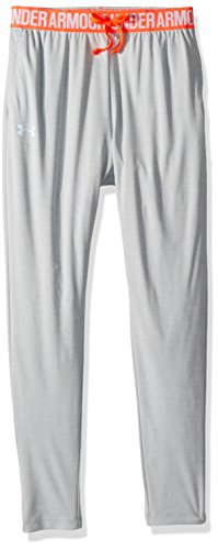 Under Armour Girls Tech Novelty Jogger, Overcast Gray (942)/Oxford Blue, Youth X-Small by Under Armour (Image #2)
