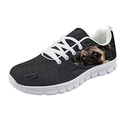 Running Showudesigns Animal Color Women's Shoes Design 1 Fashion Sport Denim Sneakers Aqq07xt
