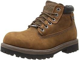Skechers Men's Verdict Boot, Dark Brown, 12 M US