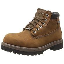 Skechers USA Men's Verdict Men's Boot,Dark Brown,11.5 M US