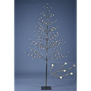Lightshare 6 ft. Christmas Tree - Northern Lights Starlit Tree with 198 LED Lights, 6 Feet 9