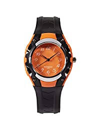 Relojes Niños Reloj Impermeable Deportes Ejército Reloj de Pulsera Moda Fresco Casual Silicona Relojes de cuarzo para Niños Niños Chicas Negro