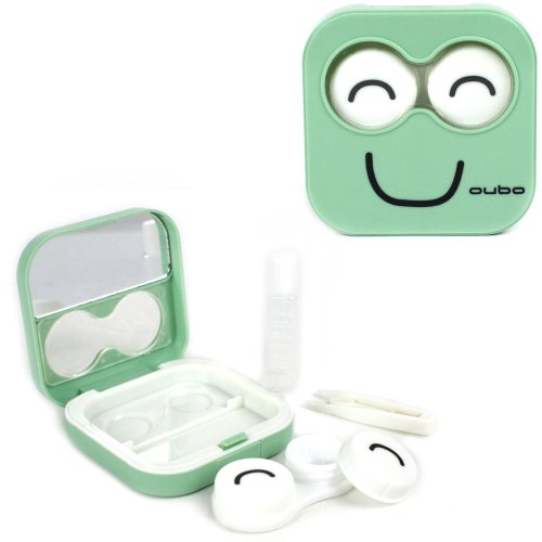 Bonne Kit Case Visage Contact Lens (Vert)