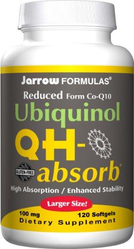 Jarrow Formulas Ubiquinol QH-Absorb, 100 mg, 120 gélules