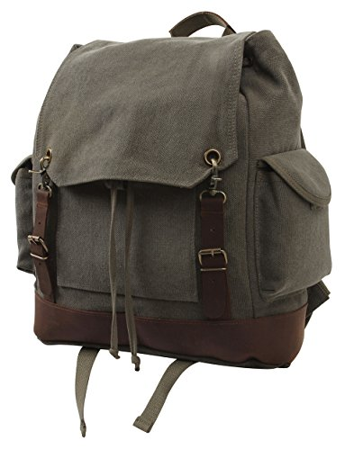 Rothco Vintage Expedition Rucksack, Olive Drab by Rothco