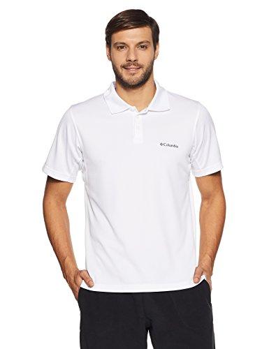 Columbia Men's New Utilizer Polo, White, Medium