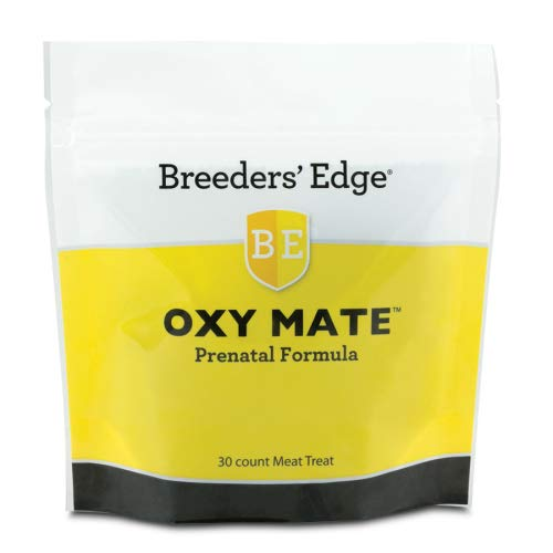 - Revival Animal Health Breeders' Edge Oxy Mate Prenatal - Supplement for Cats & Dogs 30 ct Meat Treats
