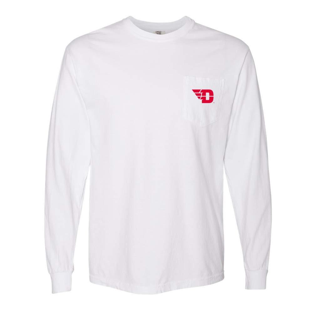 NCAA Dayton Flyers PPDTU01 Unisex Long Sleeve Pocket T-Shirt