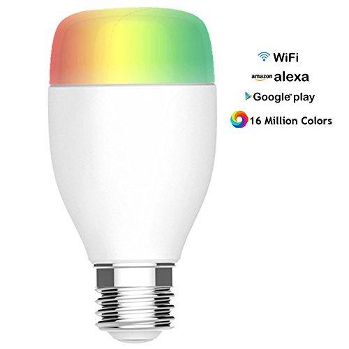 Arvin Smart LED Light Bulbs, Compatible with Alexa APP Remot