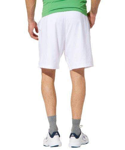 Adidas - Zapatillas de deporte de material sintético para hombre blanc-vert