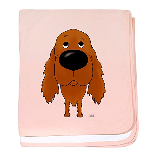CafePress - Big Nose Irish Setter - Baby Blanket, Super Soft Newborn Swaddle