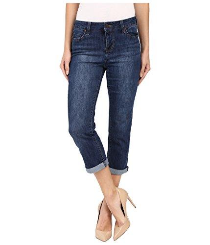 (Liverpool Jeans Company Women's Michelle Capri Super Comfort Vintage Stretch Denim, Montauk Mid Blue, 4)