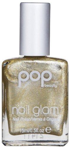 POP Beauty Nail Glam Nail Polish - Golden Metal - 0.5 oz