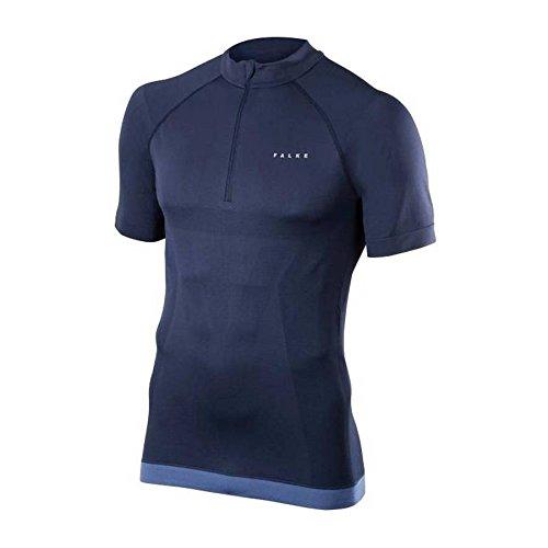 FALKE Herren Laufbekleidung Running Zip-Shirt Shortsleeved