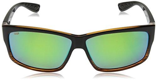 Fade Mar Mirror Costa Coconut Cut green Del 580plastic Sunglasses Xaqp1