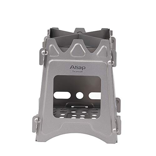 ATiAP Camping Stove Wood Burning Stove Outdoor Folding Stove Pure