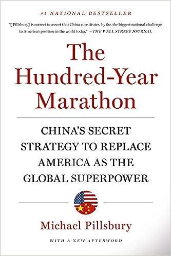 Hundred-Year Marathon: Michael Pillsbury: 9781250081346: Amazon com