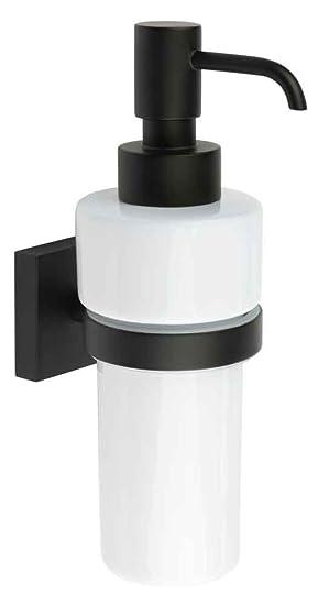 Smedbo House - Dispensador de jabón negro mate Porcelana rb369p: Amazon.es: Bricolaje y herramientas