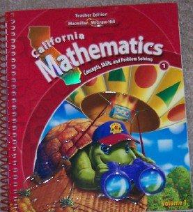 Download California Mathematics 5: Concepts, Skills, and Problem Solving, Volume 1 - Teacher Edition (1) ebook