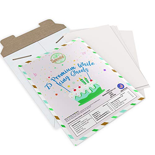 Premium Frosting Sheets - 25 Count - 8.5