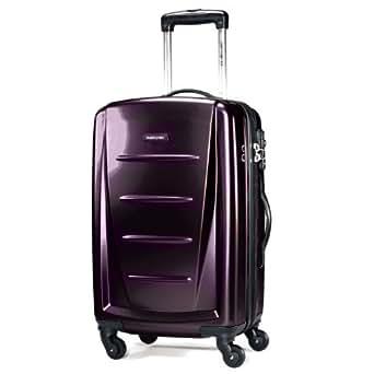 "Samsonite Winfield 2 28"" Hardside Spinner Luggage Purple"