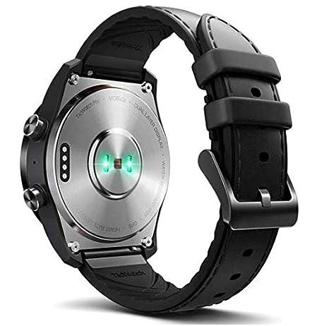 Ticwatch Pro Bluetooth Smartwatch WF12095, Reloj inteligente, Negro