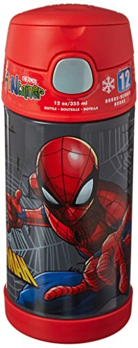 Termo Funtainer botella de 12 onzas, Spiderman