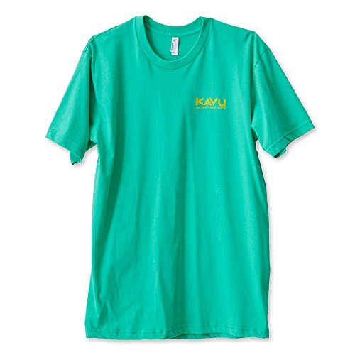 KAVU Men's Rad T Shirts, Mint, X-Large