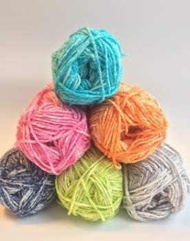 Cotton Sprizz - Ovillo de lana (50 g), color verde: Amazon.es ...