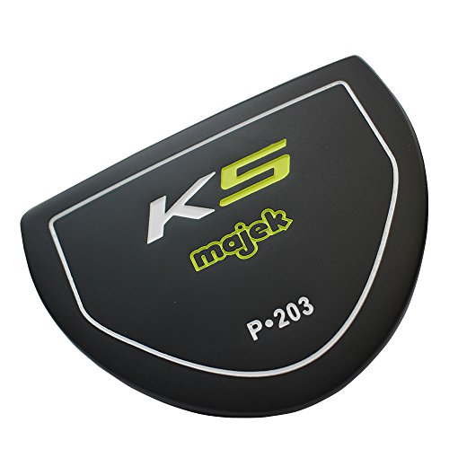Majek K5 P-203 Golf Putter Right Handed T Mallet Style with Alignment Line Up Hand Tool 35 Inches Men's Standard Length Perfect for Lining up Your Putts ()
