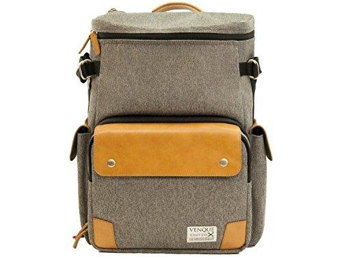 Venque Craft Co. CamPro Camera Backpack (Grey) (Best Laptop Deals Toronto)