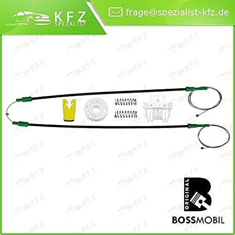 kit de reparaci/ón de elevalunas el/éctricos Kasten SB0//1//2/_ Delantero derecho o izquierdo Bossmobil Clio 2 BB0//1//2, CB0//1//2/_