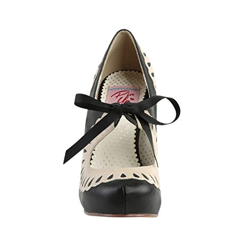 Couture Blk cream Leather Pin 05 Up Faux Cutiepie n5zxwn78qH