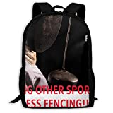 Fencing Other Sports Are Pointless Fencing Hip Hop Adult Unisex Backpack Fencing Gear Beginner Set,fencing Electric