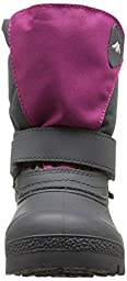 Tundra Quebec Boot (Toddler/Little Kid/Big Kid),Pink/Charcoal,6 M US Toddler