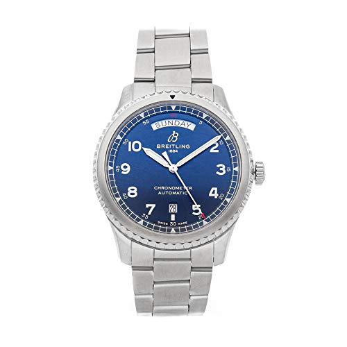 Breitling Navitimer Mechanical (Automatic) Blue Dial Mens Watch A45330101/C1A1 (Certified Pre-Owned)