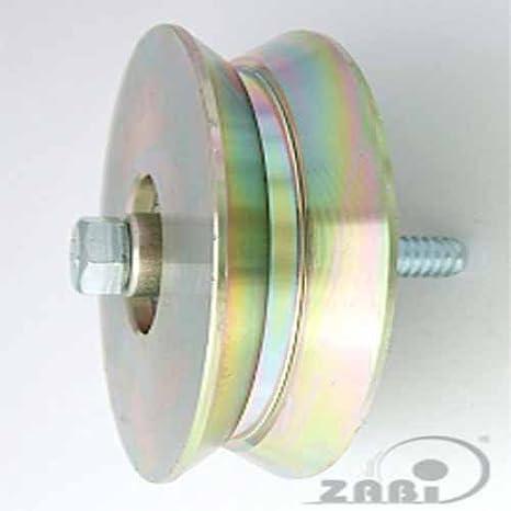 ZAB de S metal ruedas para puertas con almacenamiento en ángulo de hierro sin fijación: Amazon.es: Bricolaje y herramientas