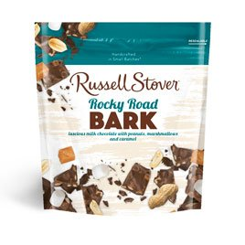Russell Stover Milk Chocolate Rocky Road Bark, 5 oz. Bag