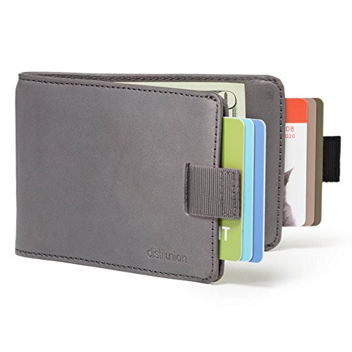 Distil Union Slim Wallets for Men with FlexLock – Minimalist Bifold...