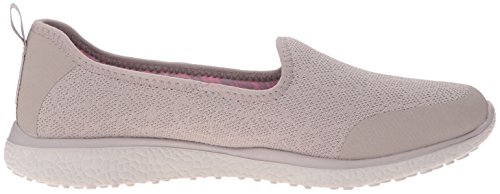 Skechers Sport Womens Microburst Its My Life Fashion Sneaker Taupe