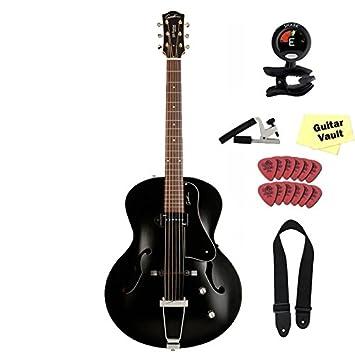 Godin 5ª Avenida Kingpin P90, Negro con accesorios: Amazon.es: Instrumentos musicales