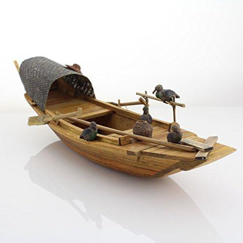 Newone 手作り 木製船模型 装飾品 写真を撮る プレゼント (タイプ-3)
