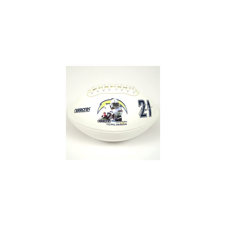 Fotoball San Diego Chargers LaDainian Tomlinson Playmaker Player Football   LADAINIAN TOMLINSON One Size