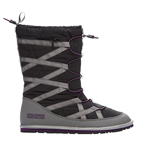 Pakems Cortina Boot - Womens Black / Purple